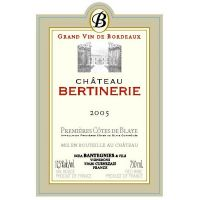 2009 Chateau Bertinerie rouge