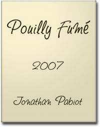 2017 Jonathan Pabiot, Pouilly Fumé Halbe